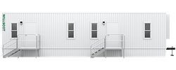 44' x 10' Office Trailer