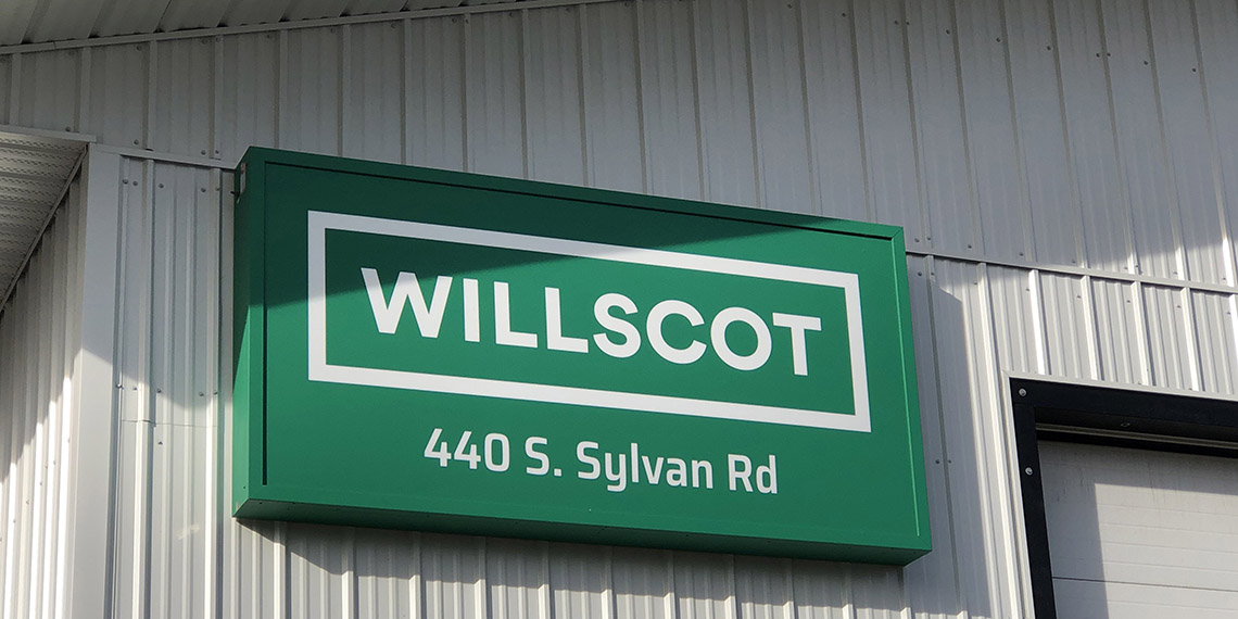 WillScot signage in Anchorage, AK