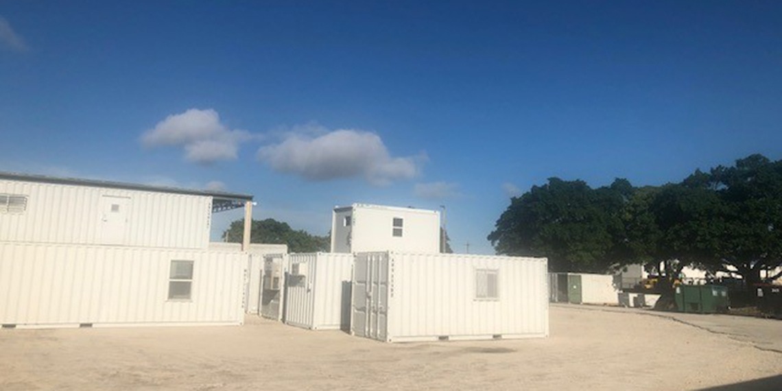 portable storage containers at WillScot Fort Lauderdale, FL