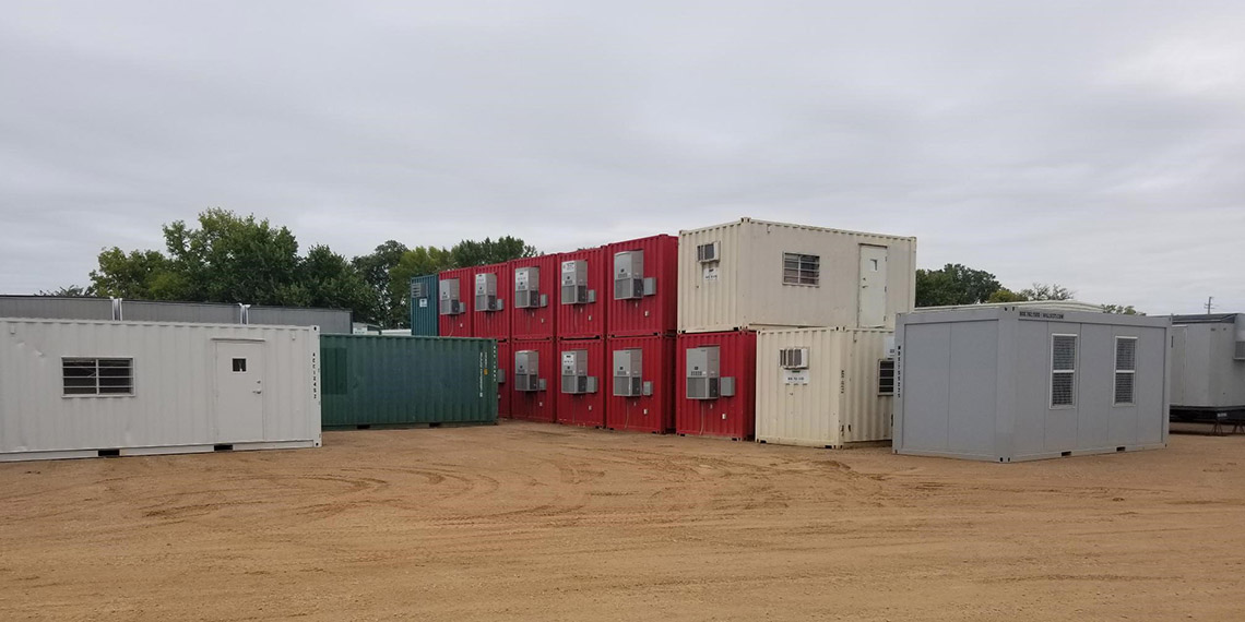 portable storage containers at WillScot Minneapolis, MN