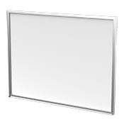 small whiteboard for your mobile office trailer