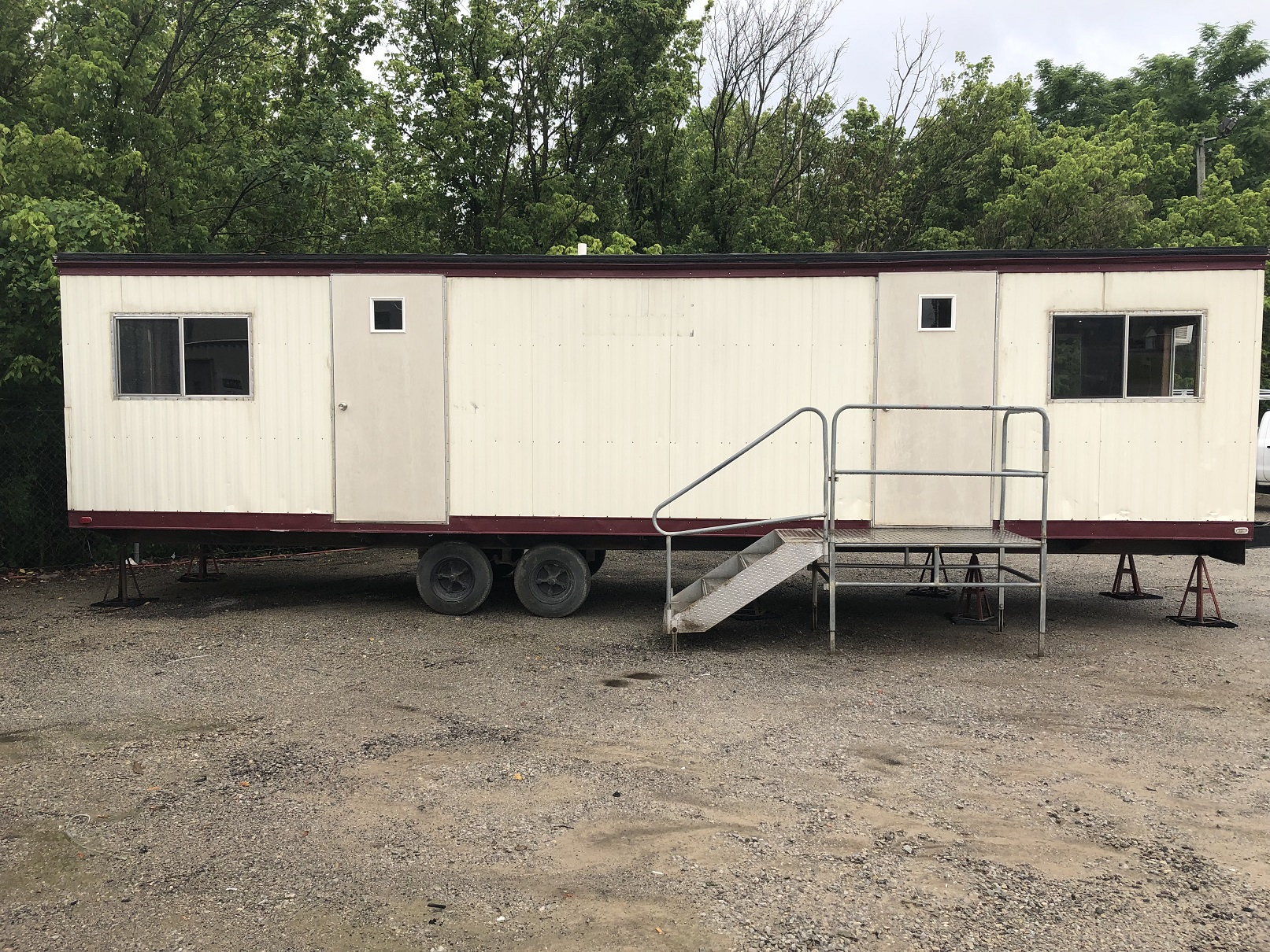 36'x8' used mobile office for sale in Louisville, KY - AMO-351961-7